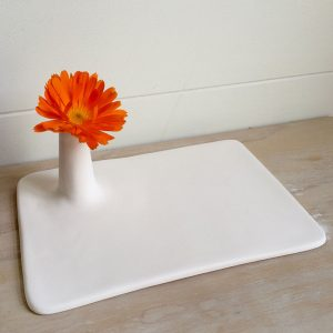 sometimes you need a flower on your plate