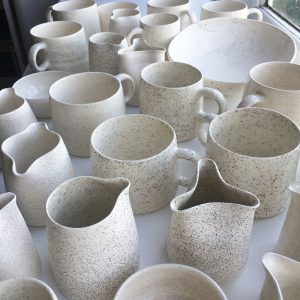 ceramics with New Zealand sand