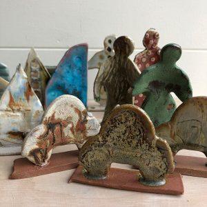 ceramic glaze test tiles